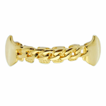 Gold Cuban Fang Lower Grillz