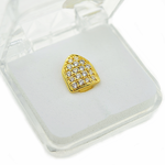 Gold Cubic CZ Top Tooth