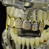 Premium Gold CZ Top Fangs