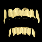 Cartel Gold Fang Grillz Set