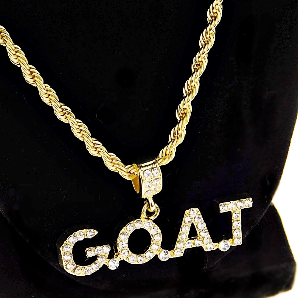 G.O.A.T Gold Rope Chain 24\