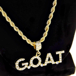 """G.O.A.T Gold Rope Chain 24"""""""