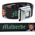 Jesus Malverde Buckle-Down Belt