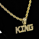 """King 24"""" Gold Rope Chain"""
