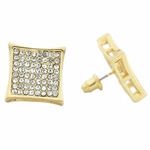 Kite Earrings Gold Tone 15 mm