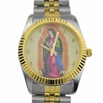 La Virgen Two Tone Men's Watch