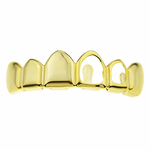 Gold Top Left 2 Open Grillz