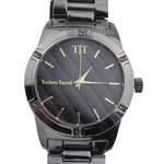 Modern Men's Hematite Watch