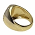 Mason Gold Black Oil Oval Ring
