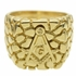 Masonic Cobblestone Ring