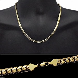 "Miami Cuban Gold Chain 20"" 5MM"