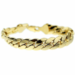 9 Inch Miami Cuban Bracelet 12mm