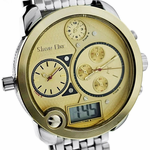 Triple Time Two-Tone Watch