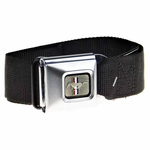 Mustang Brushed Buckle Down Belt