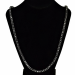 Pharaoh Black One Row Chain