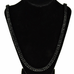 Pharaoh Black Two Row Chain