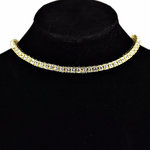 "Pharaoh Gold 16"" Choker Chain"