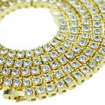 Pharaoh Gold One-Row Chain