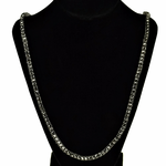 Pharaoh Hematite One Row Chain