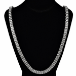 Pharaoh Silver Two Row Chain