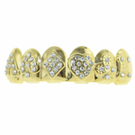 Gold Icy Poker Top Grillz