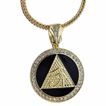 "Pyramid Eye 36"" Franco Chain"