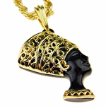 Queen Nefertiti Rope Chain 24""