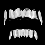 Cartel Silver Fang Grillz Set
