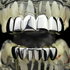 Silver Tone Best Grillz Set