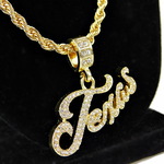 """Texas 24"""" Gold Rope Chain"""