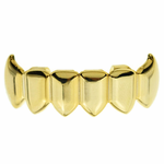 Gold Lower Fang Grillz