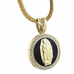 "Virgin Mary 36"" Franco Chain"