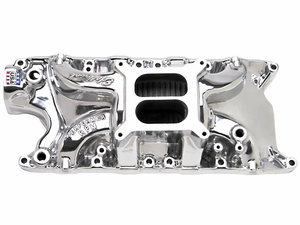 Edelbrock Polished Performer RPM Intake Manifold for 260/289/302 Small Block Ford