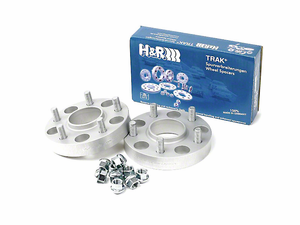 H&R TRAK+ 30mm Wheel Spacer Kit for 1964-2017 Mustang