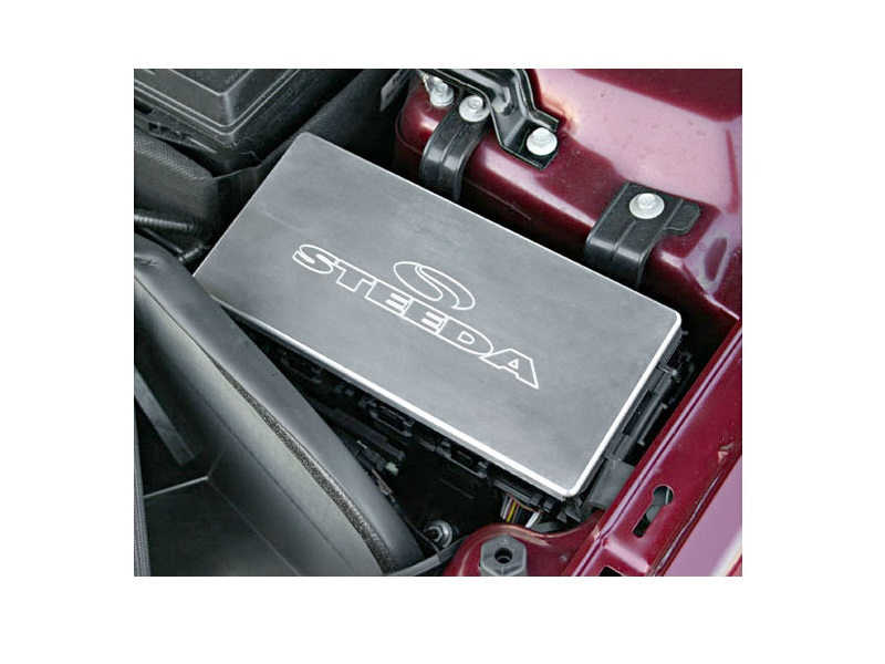 steeda billet fuse box cover for mustang 2005 2010 15 1986 rx 7 fuse box electrical wiring diagrams