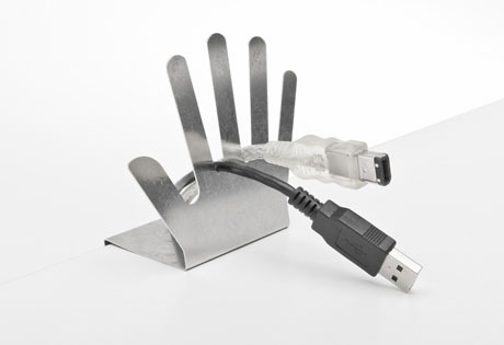Cable Butler for Desktop Surface - Click to enlarge