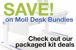 Moll Desk and Chair Bundles