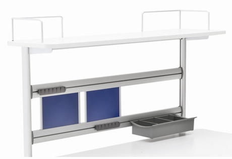 Flex Deck Extension for Champion Desk - Click to enlarge