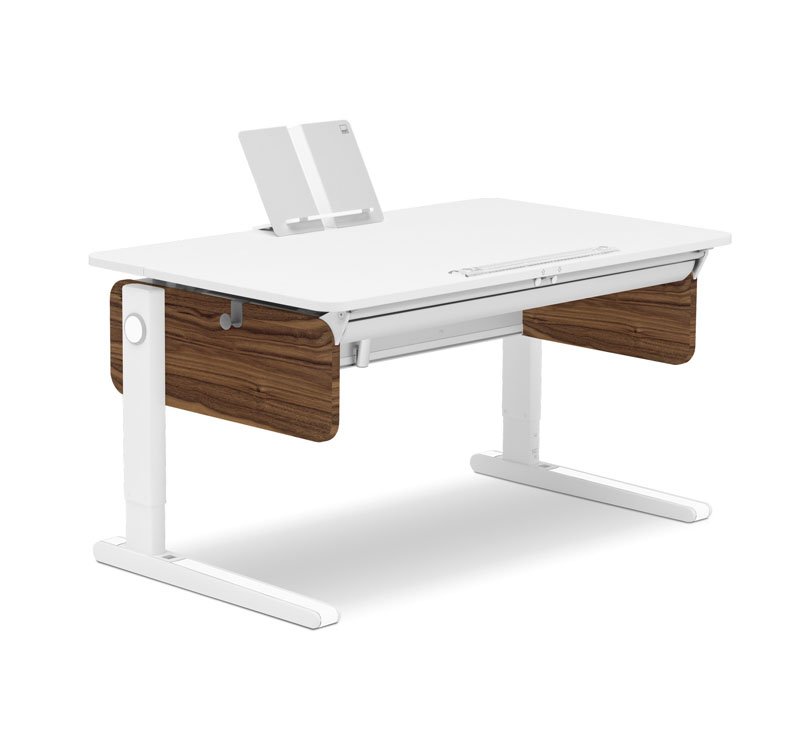 Moll Champion Adjule Desk With Walnut Finish