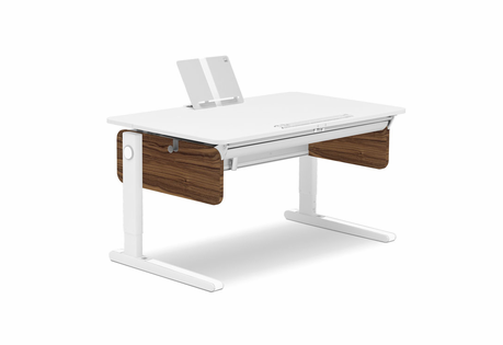 Moll Champion Adjustable Desk with Walnut Finish - Click to enlarge
