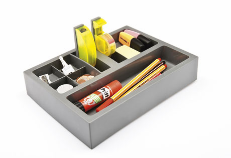 Orga Set for Desktop Surface or Drawers - Click to enlarge