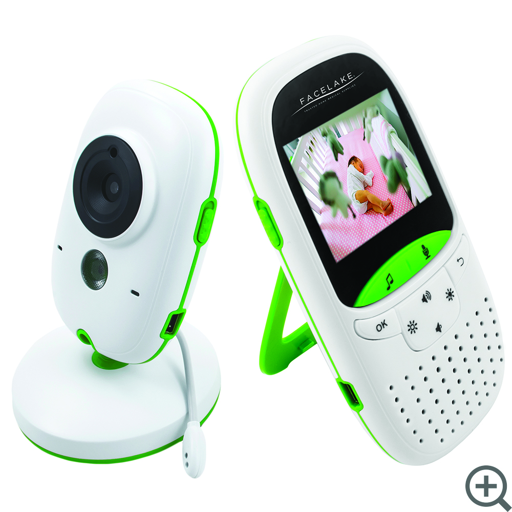 Two Way Audio Monitor : Fl video baby monitor two way audio temperature monitoring