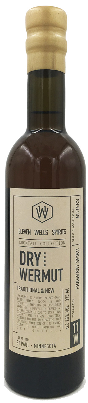 11 Wells Cocktail Collection- Dry Wermut 375ML