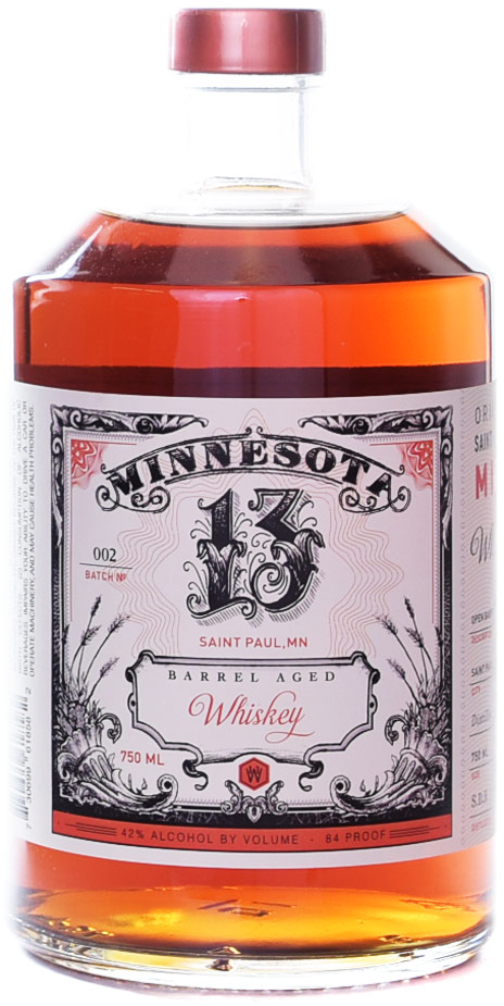 11 Wells Minnesota 13 Barrel Aged Whiskey 750ML