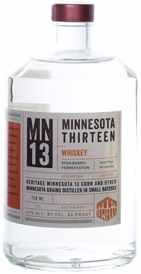 11 Wells Minnesota 13 White Whiskey 750ML