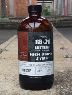 18 21 Bitters Hibiscus Rich Simple Syrup 473ml