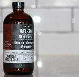 18 21 Bitters Lavender and French Sea Salt Rich Simple Syrup (Case of 12)