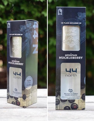 44° North Huckleberry Flavored Vodka Gift Pack
