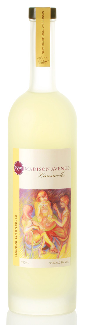 45th Parallel Madison Avenue Limoncello 750ML