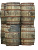 53 Gallon Used Whiskey Barrel